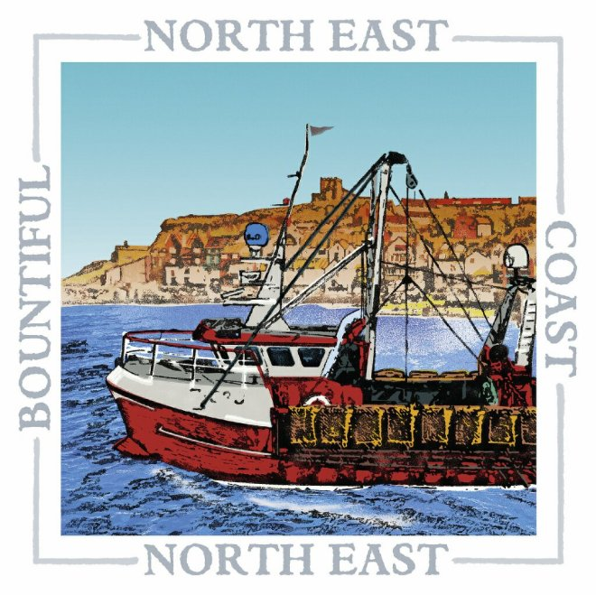 Barley Bay fine art cards coastal range North East Whitby
