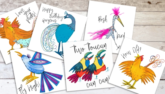 Quirky Birds montage webres
